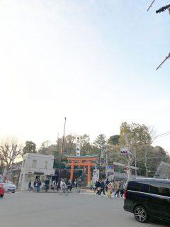 早稲田の駅から穴八幡へ御利益さがし